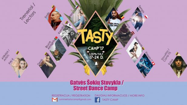 TASTY CAMP COVER 2017